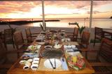パラオパシフィックリゾート サンセットビーチバーベキュー