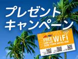 オプショナルツアー参加で『WiFiアクセスコード(72時間)』をプレゼント!